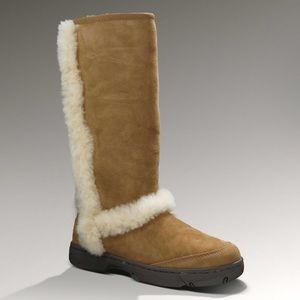 Ugg Sunburst Tall Chestnut Boot